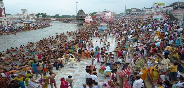 ما هو اسم النهر المقدس في الهند
