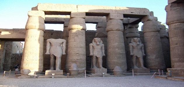 بحث عن معبد الملكة حتشبسوت