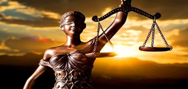 موضوع تعبير عن مقومات دولة الحق والقانون