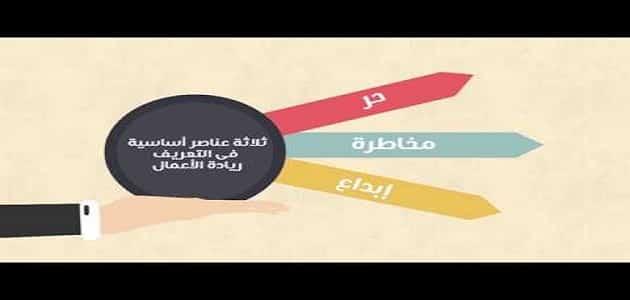 موضوع تعبير عن ريادة الاعمال في مصر pdf