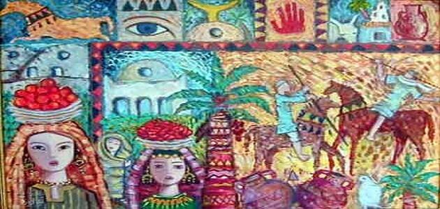 بحث عن الفن الشعبى المصري القديم للصف الاول الاعدادى
