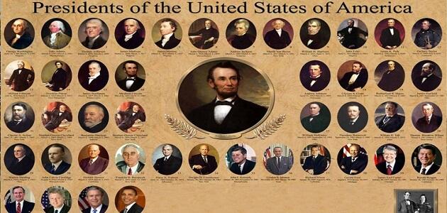 بحث عن رؤساء امريكا جاهز