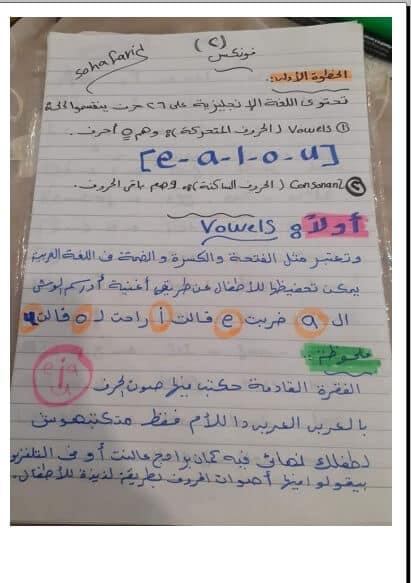 أوراق عمل تأسيس الطفل في اللغة الإنجليزية