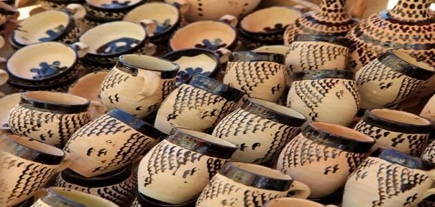 موضوع تعبير عن صناعة الفخار في مصر