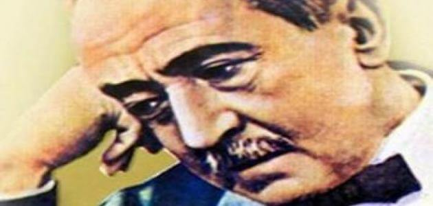 بحث عن حياة احمد شوقي