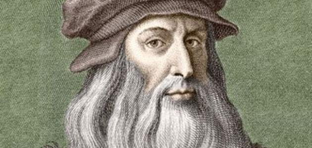 بحث عن ليوناردو دافنشي مختصر
