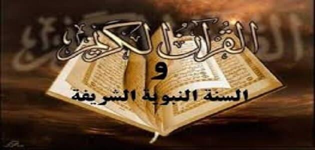 بحث في القرآن والسنة النبوية