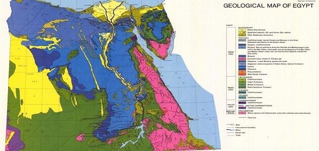 بحث عن العصور الجيولوجية وفروعها