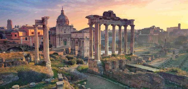 موضوع تعبير عن العمارة الرومانية
