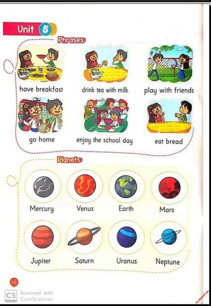 كلمات وقواعد اللغة الانجليزية كونكت 2 تانية ابتدائي ترم أول وثاني