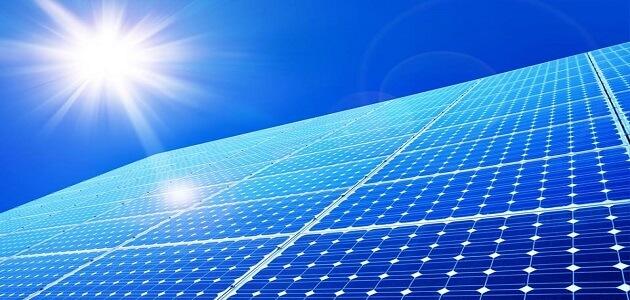 بحث عن الطاقة الشمسية ومصادرها