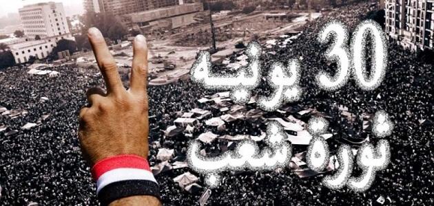 موضوع تعبير عن ثورة 30 يونيو