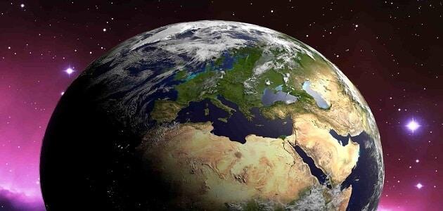 الجغرافيا الطبيعية ونشأة الأرض