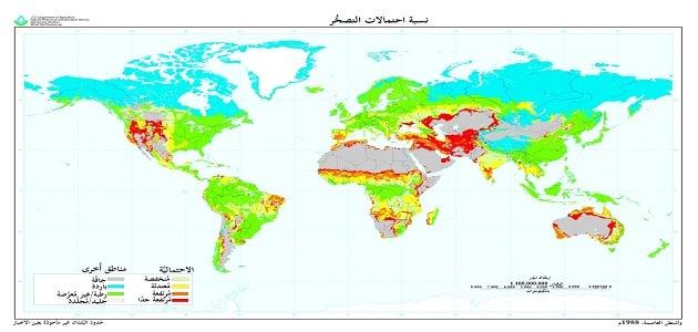 اسباب الجفاف والتصحر والتغيرات المناخية