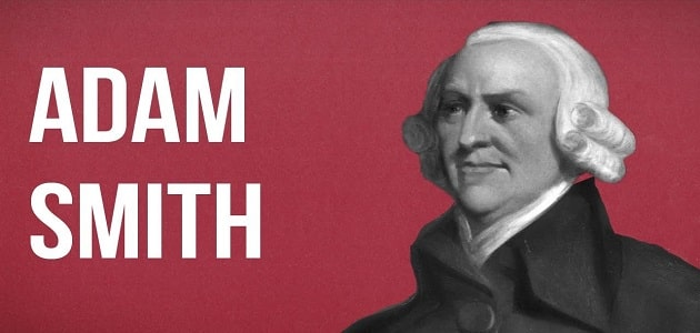 مفهوم علم الاقتصاد عند ادم سميث