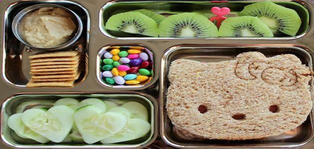 الغذاء الصحي للأطفال المدارس
