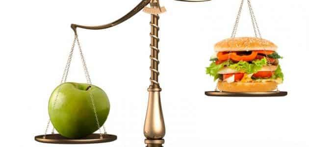 بحث عن الغذاء الصحي وأهميته وأضرار التغذية غير الصحية