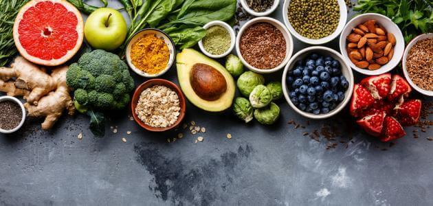 تعبير عن الغذاء الصحي وفوائده