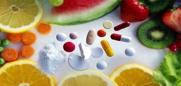 جدول الاحتياج اليومي من الفيتامينات والمعادن
