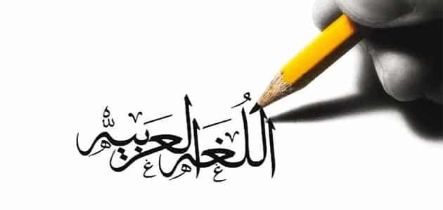 حوار بين ثلاثة اشخاص عن اللغة العربية