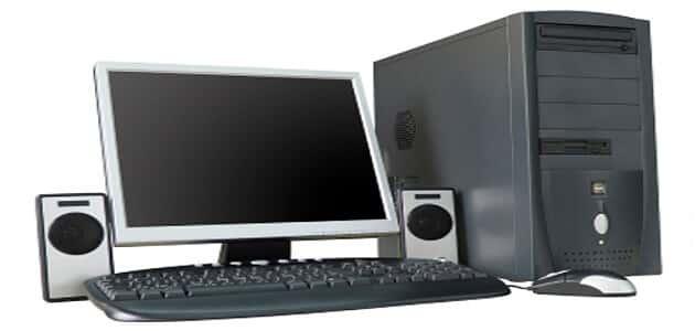 حوار بين شخصين عن الحاسوب
