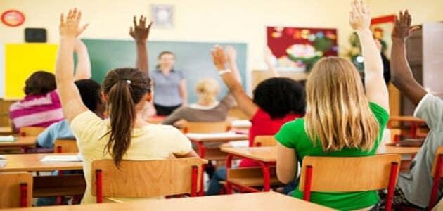 حوار حول قيمة التحلي بالنظام داخل المدرسة