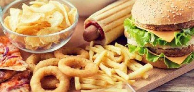 معلومات عن الغذاء الصحي والغير صحي للأطفال