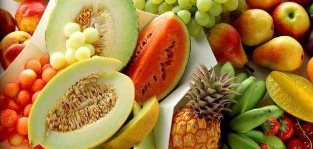 مقدمة عن الفواكه والخضروات