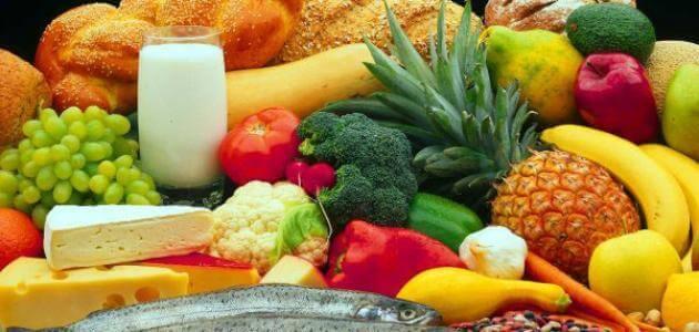 مقدمه عن الغذاء الصحي والغير صحي