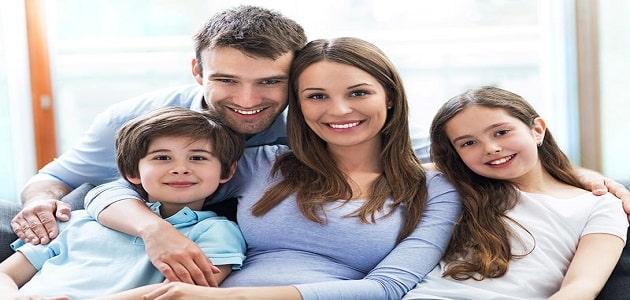 موضوع تعبير عن أهمية الأسرة في المجتمع