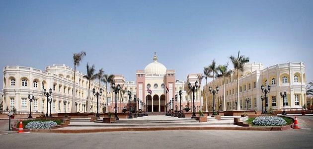 معلومات عن الجامعة البريطانية في مصر